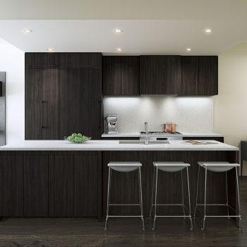 Maisonette - Kitchen Dark