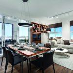 Park & Metro Model Home - Dining & Living Room