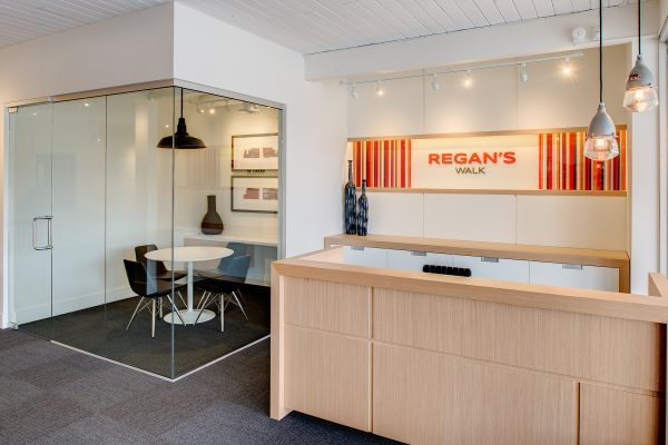 Regan's Walk Sales Office