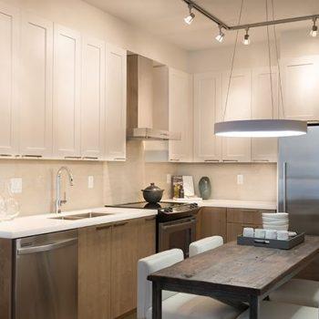 Regan's Walk Model Home - Kitchen & Dining