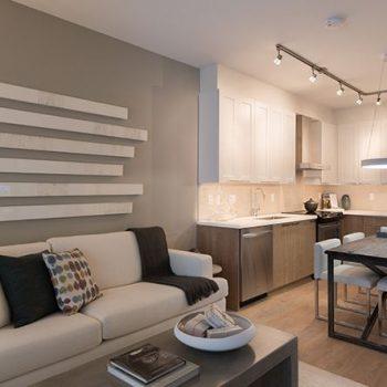 Regan's Walk Model Home - Living & Dining